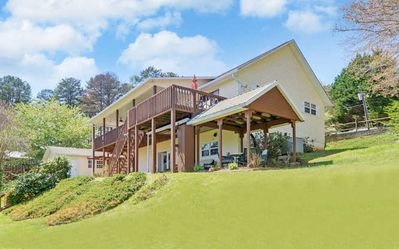 Photo for SPACIOUS LAKE FRONT HOME*3BR*WINTER-SPRING OPEN**LARGE 2 LEVEL DOCK*AMAZING VIEW