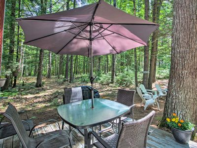 Photo for Quiet & Remote Waterfront Cottage on Panther Pond!