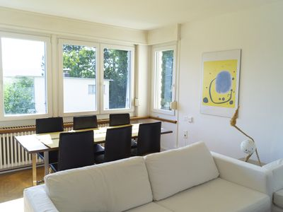 Photo for Sunny & quiet apartment in Zurich, 20 min from city center.
