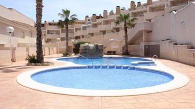 Photo for BEAUTIFUL DUPLEX with POOL in CABO DE PALOSswtw