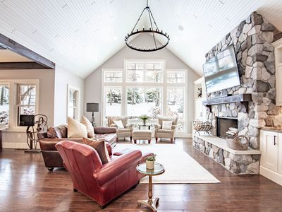 Photo for This gorgeous 5-bedroom ski-in/ski-out home is located on Boyne Mountain.