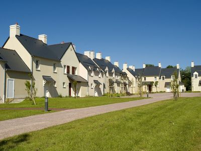 Photo for Apartment 7/8 people on park Le Green Beach in historic surroundings of Normandy