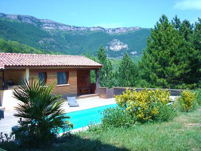 Photo for Nice, comfortable house with private pool reserved