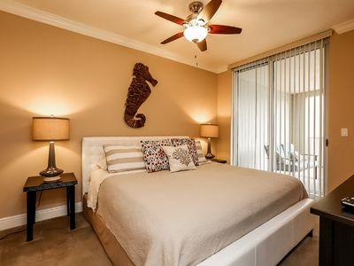 Photo for Ground Floor Luxury Condo-Beach Service Included-Steps away from Beach & Pool