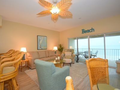 Photo for Gulf Front Vacation Retreat 2 Bedrooms 2 Baths
