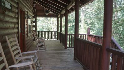 Photo for Knoxville TN Log Cabin