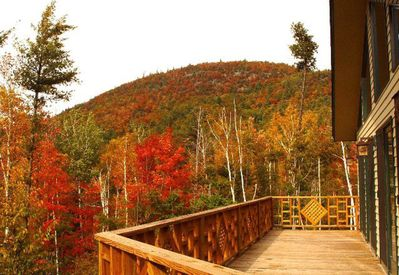 Fall colors from front deck.