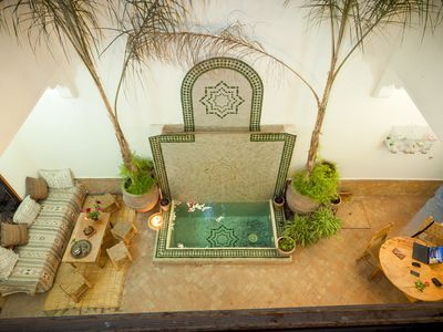 Photo for Charming Riad 3 minutes from Jemaa Elfna Square with Bed and Breakfast Marrakech