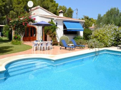 Photo for Costa Blanca, Javea, Villa 6 persons, private pool, beach 5 km