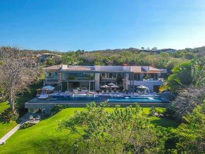 Photo for Stunning Brand New 7 Bedroom Oceanfront Estate in Punta Mita