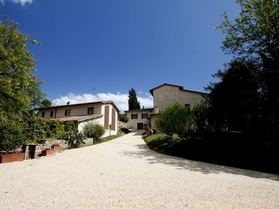 Photo for Apartment in house with swimming pool, in Colle Val d'Elsa and San Gimignano