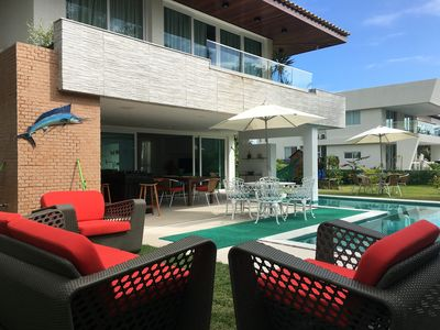Photo for 4BR House Vacation Rental in Porto de Galinhas - Cupe, PE
