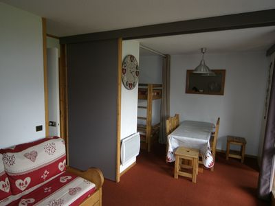 Photo for A BellePlagne - Beryl. Studio of 28 m² - 5/6 pers. Completely renovated in 2013