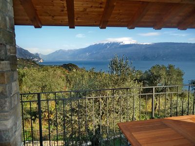 Photo for Apartment in a quiet location with great views, large pool and garage
