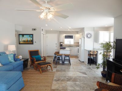 Photo for Condo #1144 Gorgeous Beachfront Condo With Complimentary Beach Service!!