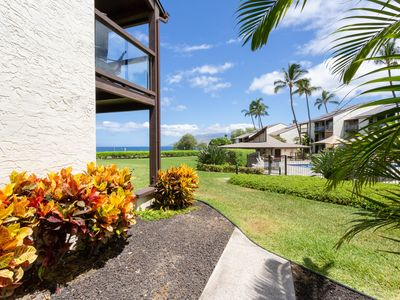 Photo for #171 Ground floor condo, easy access to best beach on Maui!