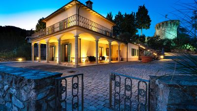 Photo for VILLA IL TORRIONE: Elegance and luxury home between Lucca and Florence with SPA