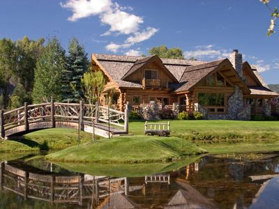 Photo for Large Log home on 5 acres in the Animas Valley, sleeps 12