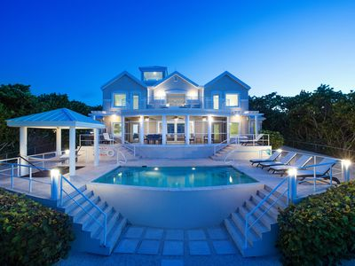 Photo for Fishbones: Luxe Gated Villa w/Infinity Pool, Screen Porch, Stunning Elevated Views