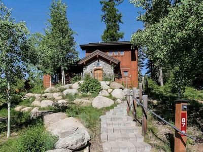 Photo for Luxury Resort Townhouse w/ Private Hot tub WiFi BBQ Fireplace Ski In/Out- Family Friendly