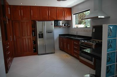 Complete equipped luxurious kitchen