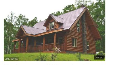 Photo for Cozy And Very Private Log Cabin!