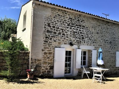 Photo for Renovated, serene and harmonious house and garden on the road to Compostela