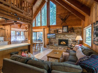 Photo for 4BR w/ Expansive Deck, Grill, Fireplace - Minutes to Skiing, Walk to Beach