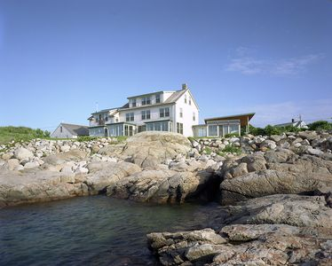Photo for Spectacular, luxury waterfront property directly overlooking Sandy Bay.