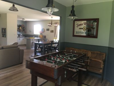 Photo for 3 star cottage with petanque and table football on the edge of the forest