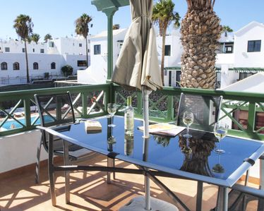 Photo for Upstairs apartment with Wifi, Air Con and U.K. TV in Puerto Del Carmen