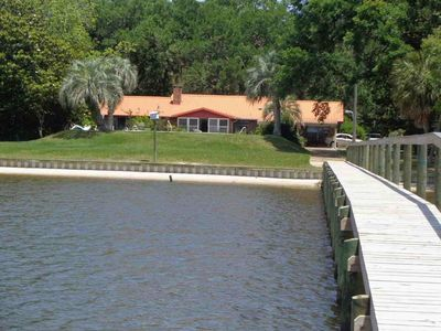 Awesome Bay Front Property with Pier and Boathouse.