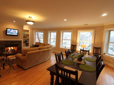 Photo for Condo with Whirlpool Tub, Deck and Open Floor Plan. Perfect for Lrg Family