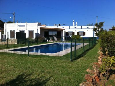 Photo for RARE HOUSE FIRST LINE RIA FORMOSA SWIMMING POOL