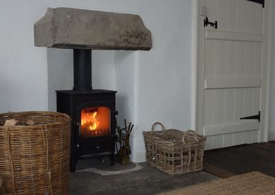 Get cosy by the log-burner!