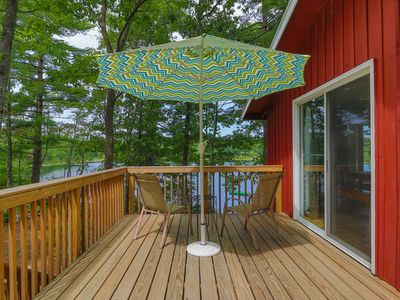 Lakefront home w/ private dock & deck - close to trails & ocean beaches too!