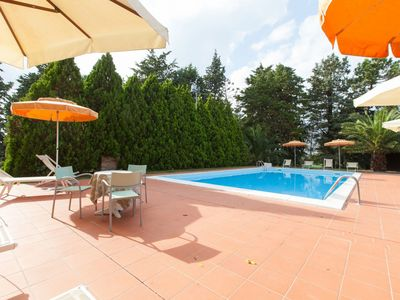 Photo for Two Bedroom Ground Floor Apartment Peccioli  Paloma M is a pretty apartment in a typical Tuscan farmhouse