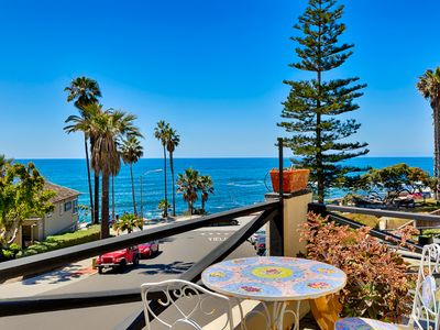 Photo for 20% OFF JULY - Oceanfront Condo, Walking Distance to Beach & Town