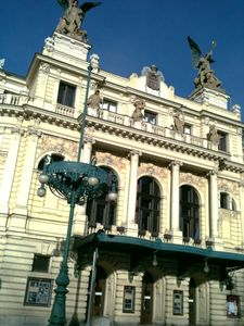 Vinohrady Theatre, 250 meters far from Your apartment