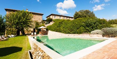 Photo for Villa Alfieri- 5 bd villa surrounded by vineyards with panoramic views near Siena