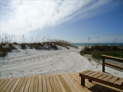 Photo for Directly on the Beach! Madeira Beach, Private Home, Lg. Deck