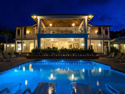 Photo for CHEF! BUTLER! HEATED POOL! FAMILY FRIENDLY! GYM!Fairway Manor - Montego Bay 5BR