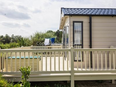 Photo for Luxury caravan for hire at Broadland sands holiday park in Suffolk ref 20304
