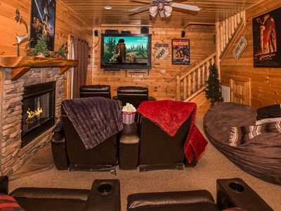 Photo for Luxurious Cabin with Theater, Fantastic Location, Wonderful Amenities!!