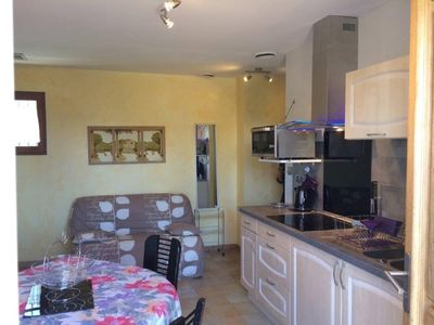 Photo for Very pleasant 2 bedroom cottage in Languedoc villa