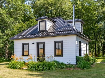 Photo for Modern country escape with private farm and forest views