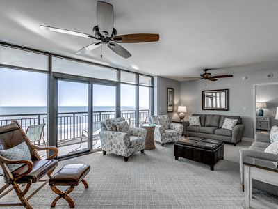 Photo for Luxury 5 bedroom w/ 2 Oceanfront Masters  - Available by Luxury Beach Rentals