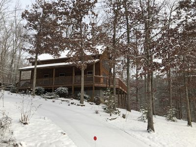 Photo for Beautiful 2 Bedroom 2 Bathroom cabin. Ask about Specials