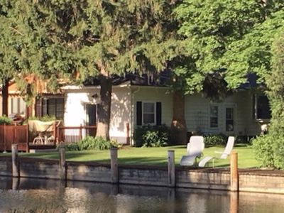 Photo for Quiet home on a channel in Winneconne