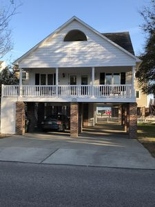 Remodeled home just one block from the beach!